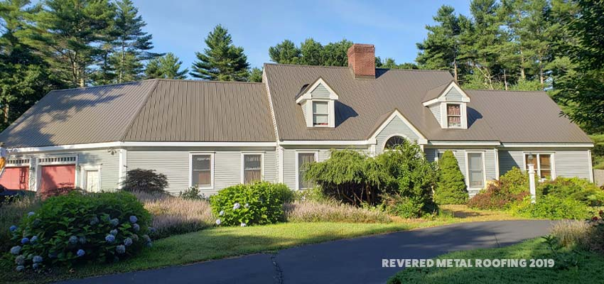 Metal Roofs Add Up To A Better Value in massachusetts