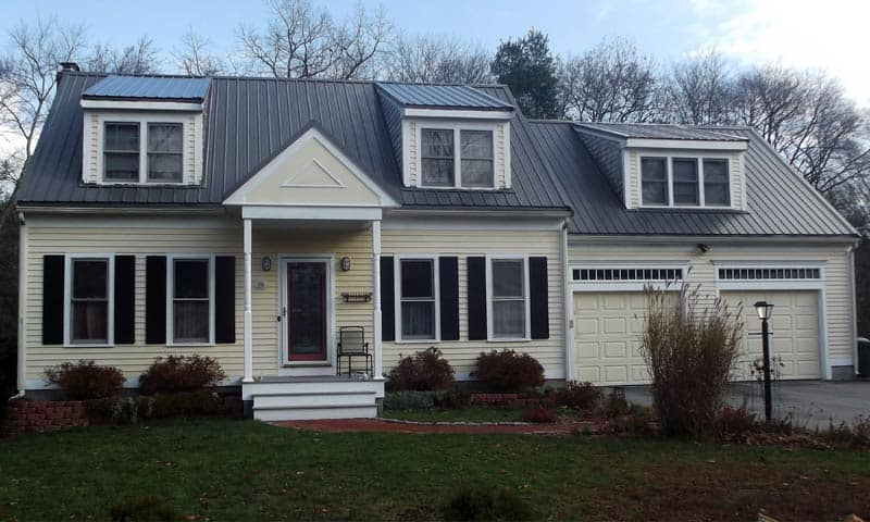 standing seam metal roof plymouth ma